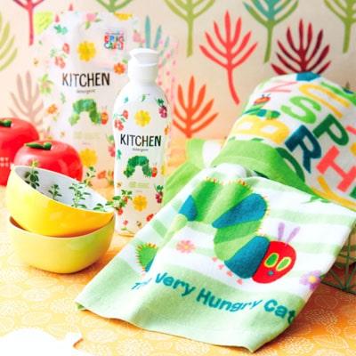 【はらぺこあおむし】デザインのキッチン洗剤セット