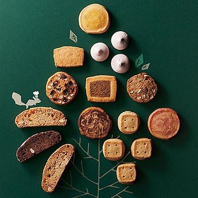 玄米や五穀を使った 素朴で優しい森のクッキーギフトセット