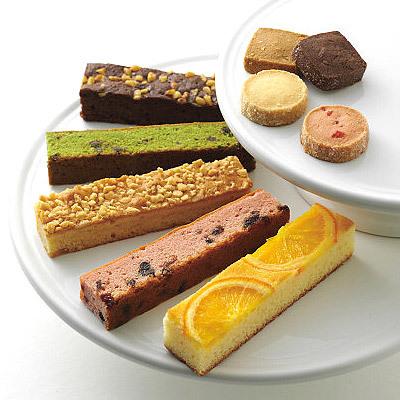5種類のしっとりケーキとクッキーのヴァリエーションギフト